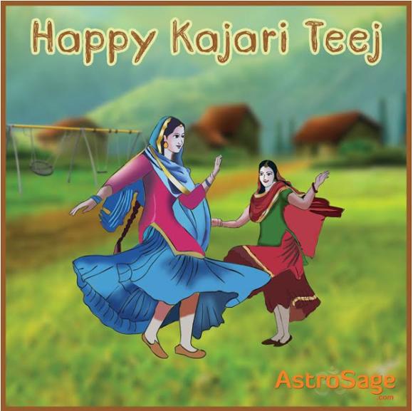 Kajari Teej is the day to celebrate womanhood and the nuptial bond.