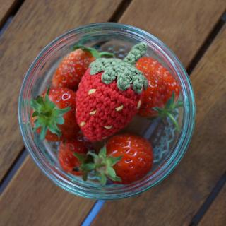 fraise au crochet