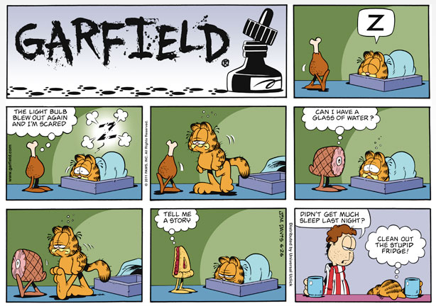 Project child murdering robot three funny comics in one - Funny garfield pics ...