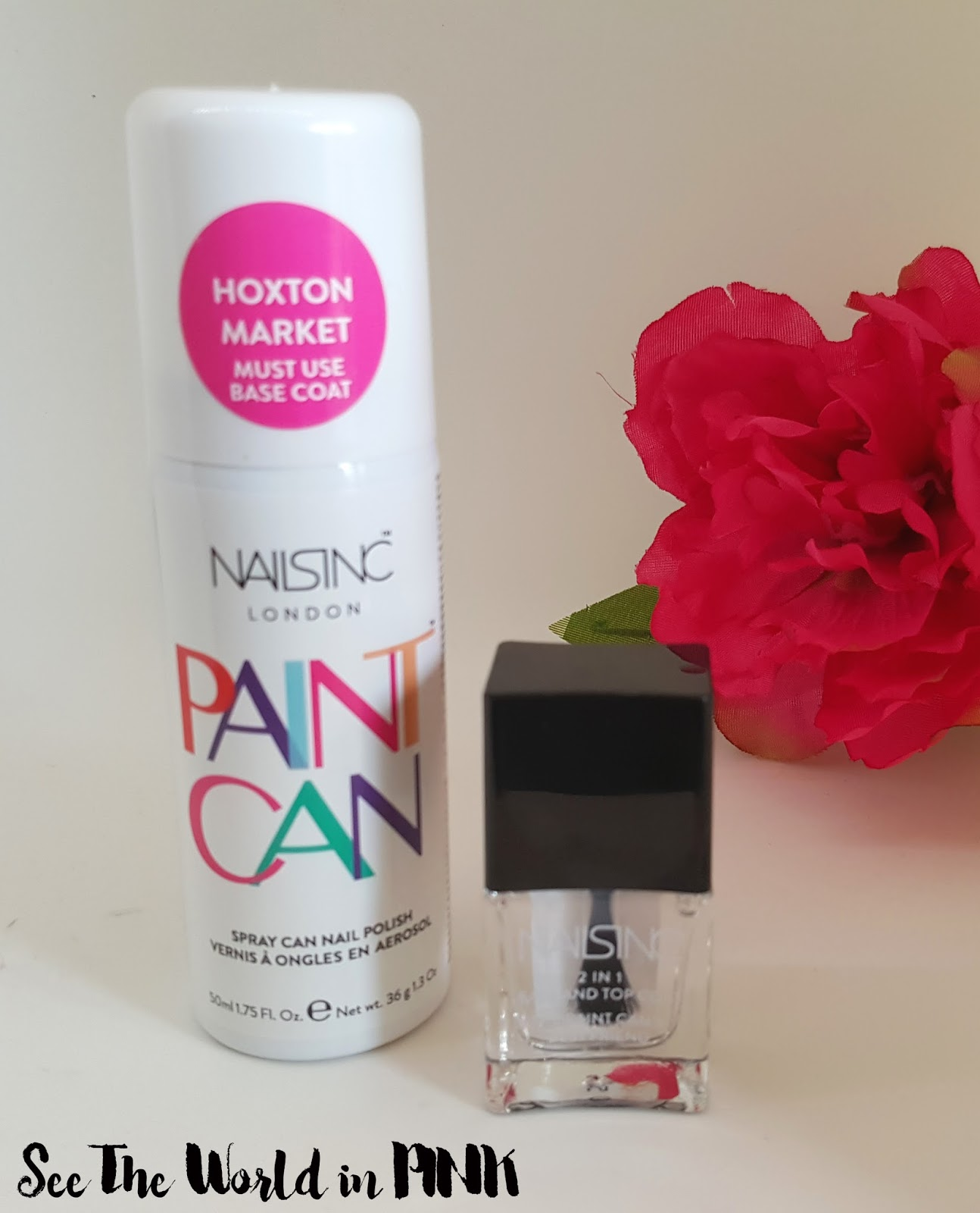 Nails Inc Paint Can Review (Spray On Polish) + an update 24 hours later