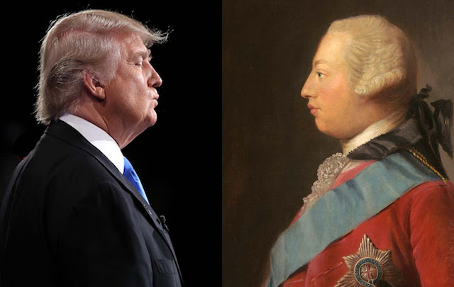 King George III and Trump