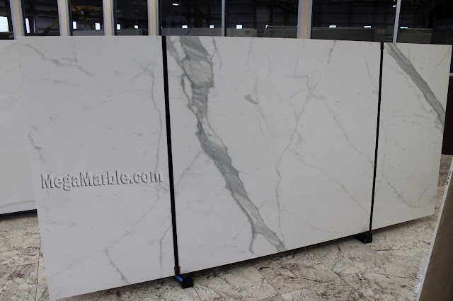 Statuary Porcelain Slabs For Countertops & Shower Walls