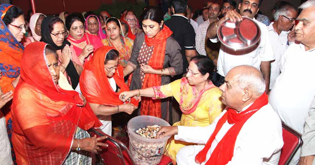 At Ramnavmi Yagna Festival, he has proved his server-sufficiency through the Brahma Vishnu