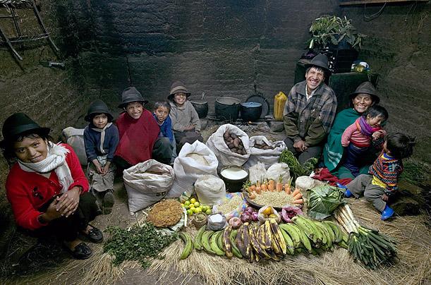 família equatoriana equador