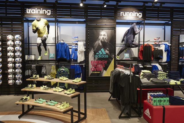 Loja Adidas em Barcelona