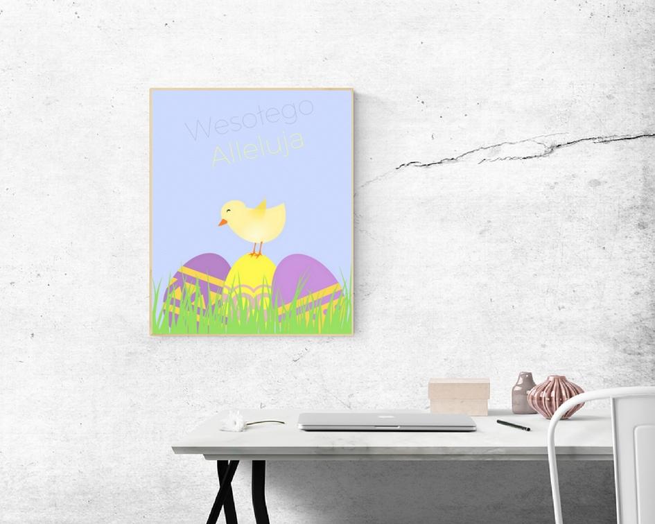 Wielkanocny plakat