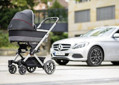 Mercedes faz carros, caminhões e… carrinho de bebê?