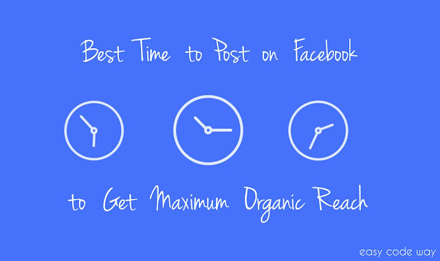 Best Time to Post on Facebook - Get Max. Organic Reach