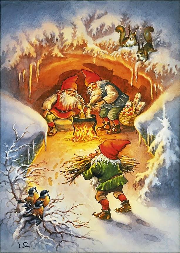 SWEDISH THOUGHTS Christmas Card