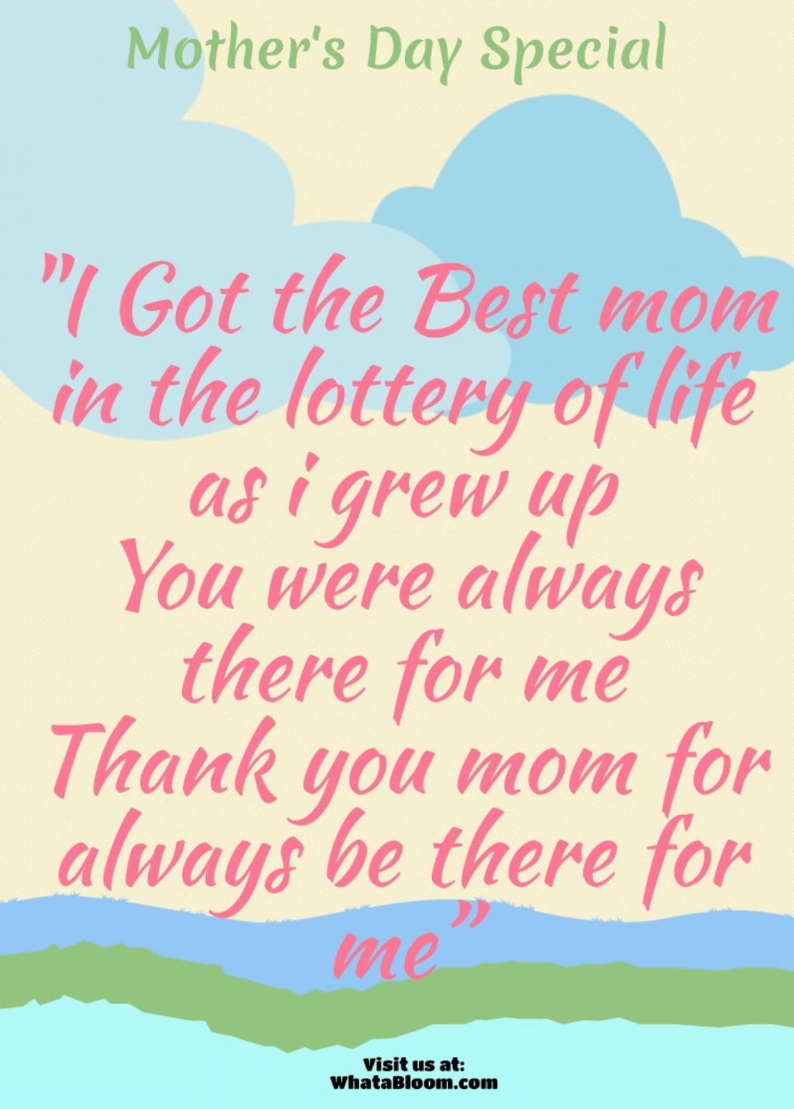 Best lines for mom on mother s day