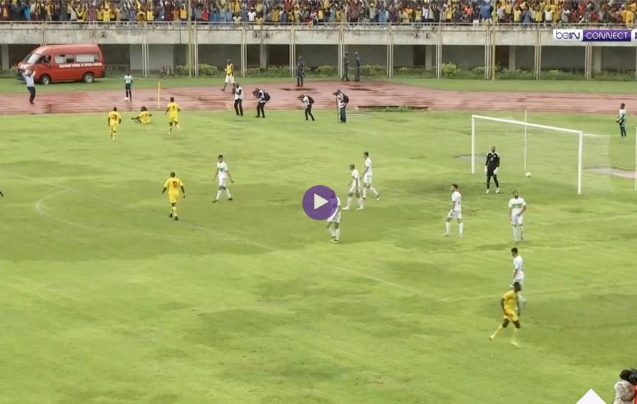 ملخص واهداف مباراة الجزائر وبينين 0-1 في تصفيات كأس أمم إفريقيا 2019.
