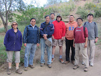 Group at Garcia Trail trailhead