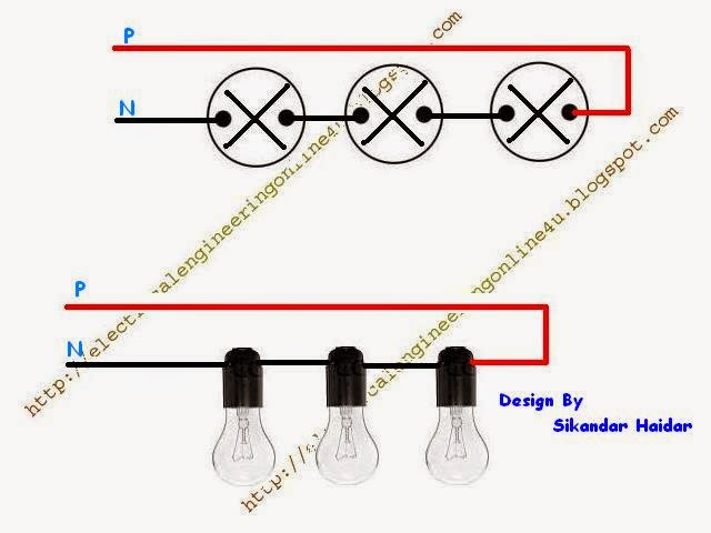 Method Of Wiring Lights In Series With Diagram Electricalonline4u