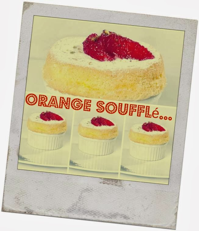 Orange Soufflé: Individual Orange Sweet Treat Recipe