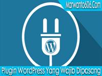 Plugin WordPress Yang Wajib Dipasang
