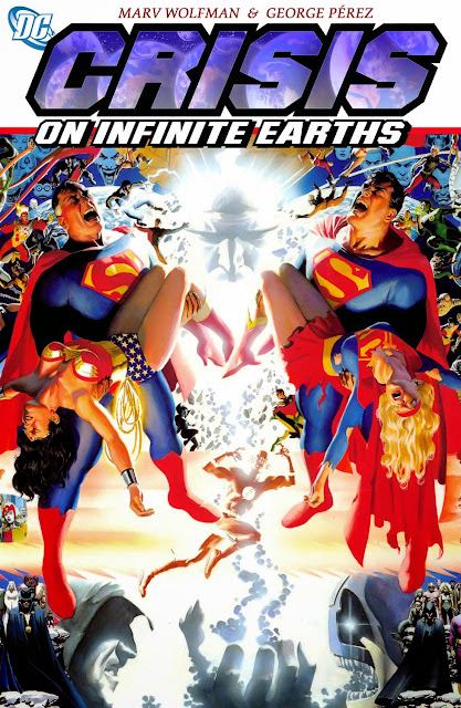 Crisis on Infinite Earths Comics Cover,