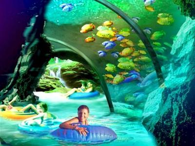 Aquatica Orlando Parque Lazy River