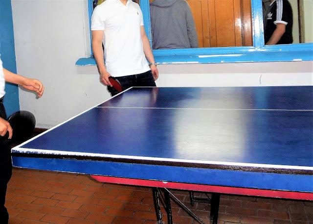 コロンビアでは卓球が人気