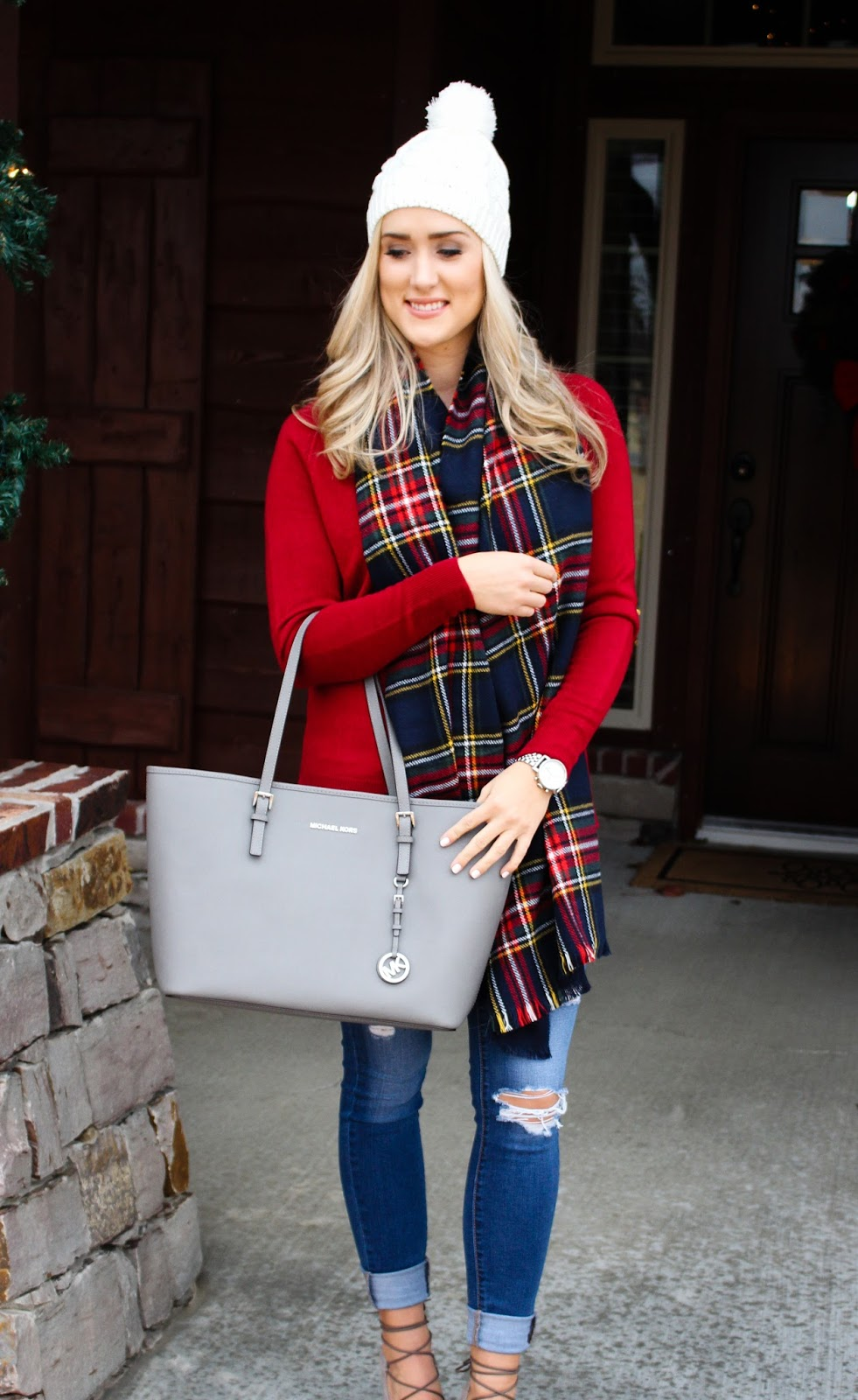 The Blue Diamond: Red Christmas Sweater