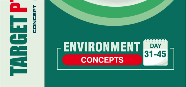 GS Score Environment UPSC IAS Target 2020