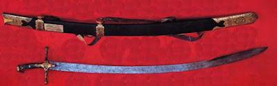 foto pedang nabi muhammad Al Mikhdham