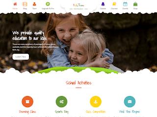 Kids Education образовательная тема WordPress