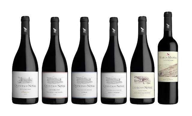 Novos rótulos para os vinhos do Douro da Quinta do Noval