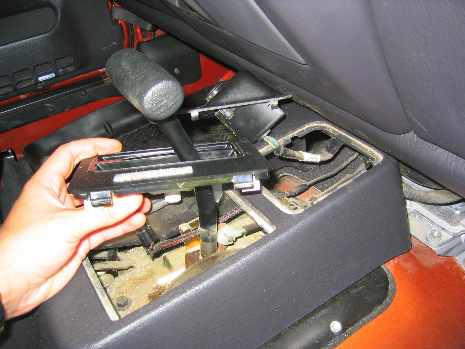 jeepguide removing a wrangler tj center floor console. Black Bedroom Furniture Sets. Home Design Ideas
