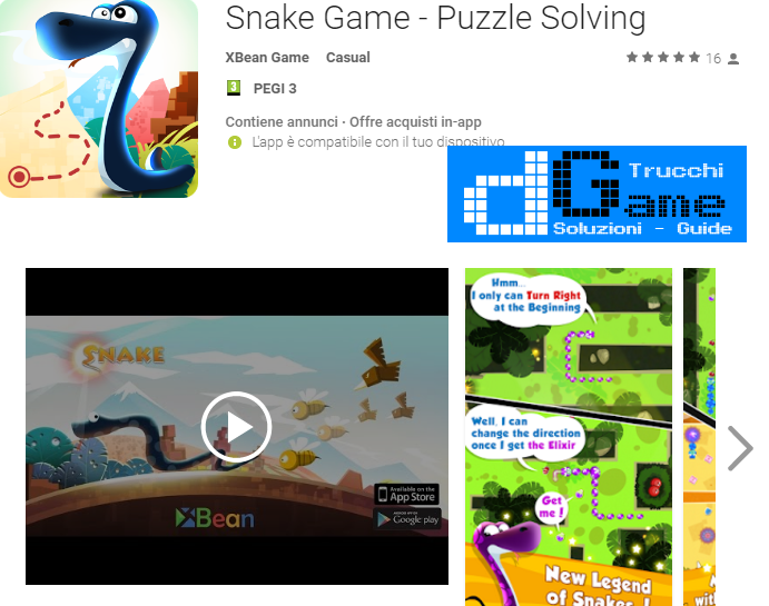 Trucchi Snake Game – Puzzle Solving Mod Apk Android v1.0.4
