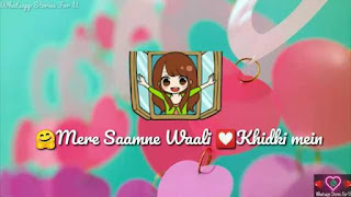 Mere Saamne Wali Khidki Mein Female Love Whatsapp Status Video Download