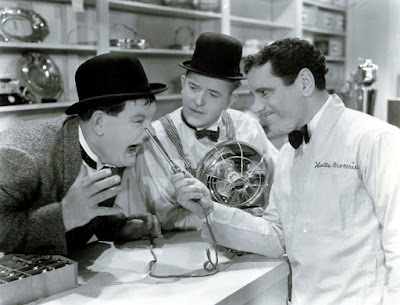Laurel and Hardy film and The Lost Films of the Kursaal