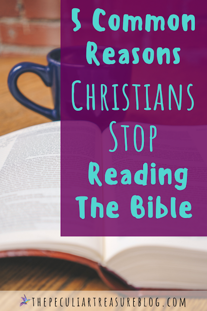 5 Common Reasons That Christians Stop Reading the Bible | #faith #Christianity #Bible