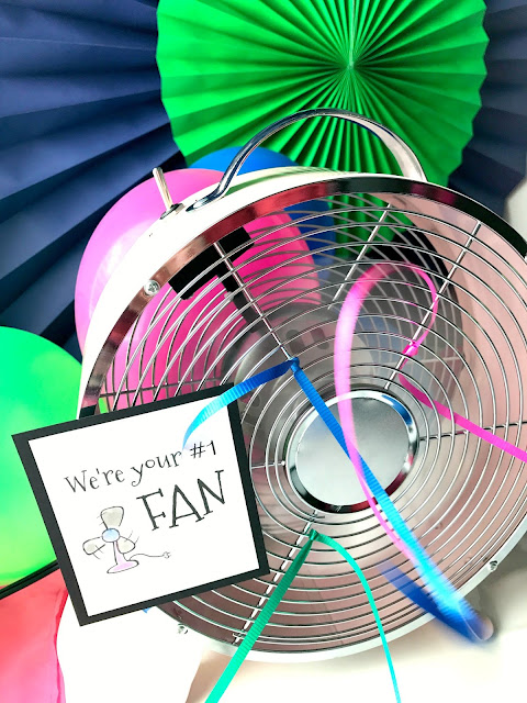 We're your #1 FAN!  FAN puns and printables.