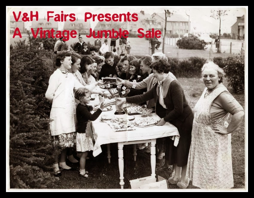 The Vintage & Handmade Jumble Sale ~ 12th July