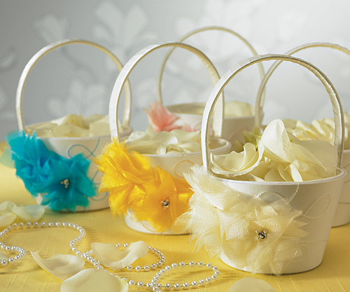 Flower Baskets For Weddings Bouquet