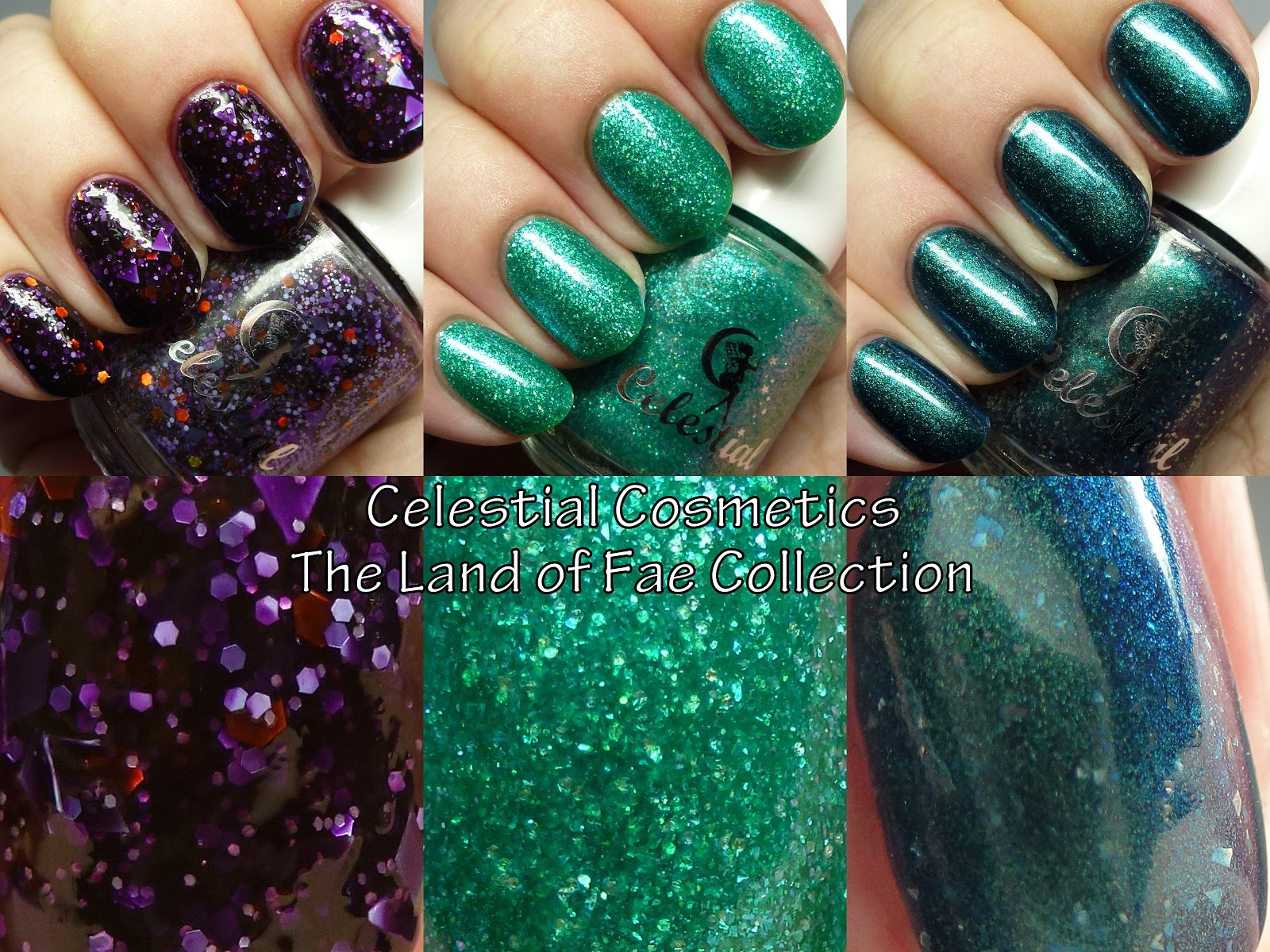 The Polished Hippy: Celestial Cosmetics The Land Of Fae Collection ...
