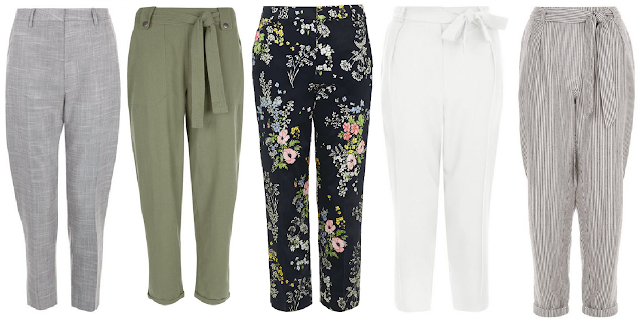 spring essentials - the cropped trouser
