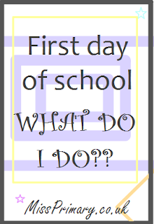 teacher advice for first day of school lesson activities