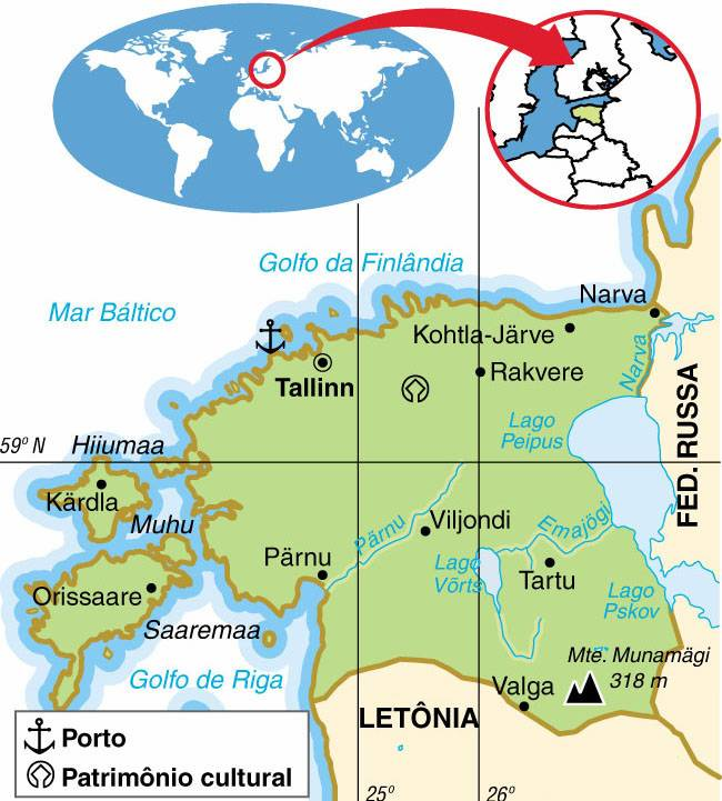 Estônia, Aspectos Geográficos e Socioeconômicos da Estônia