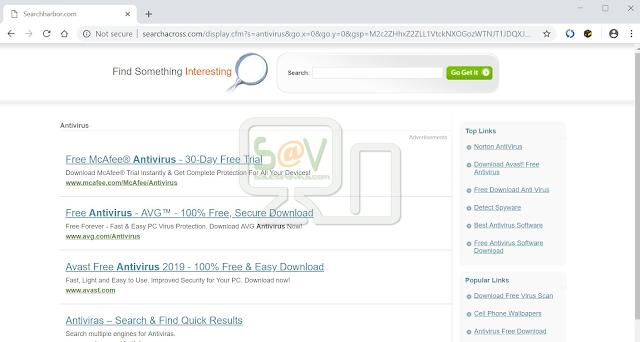 redirecciones Searchacross.com