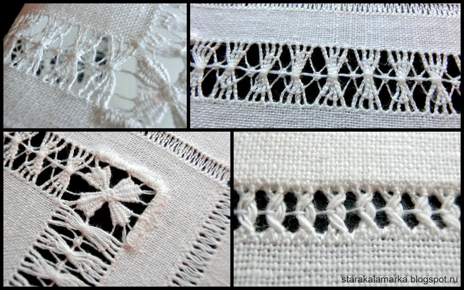 мережка, вышивка мережкой, салфетка с вышивкой, прикладная вышивка