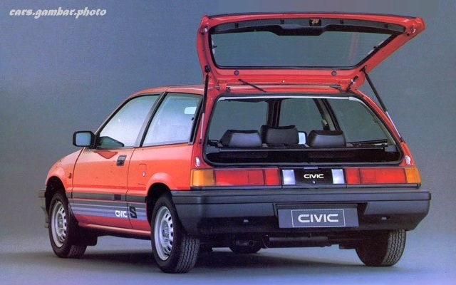 Honda Civic III Wonder Hatchback Rear Door