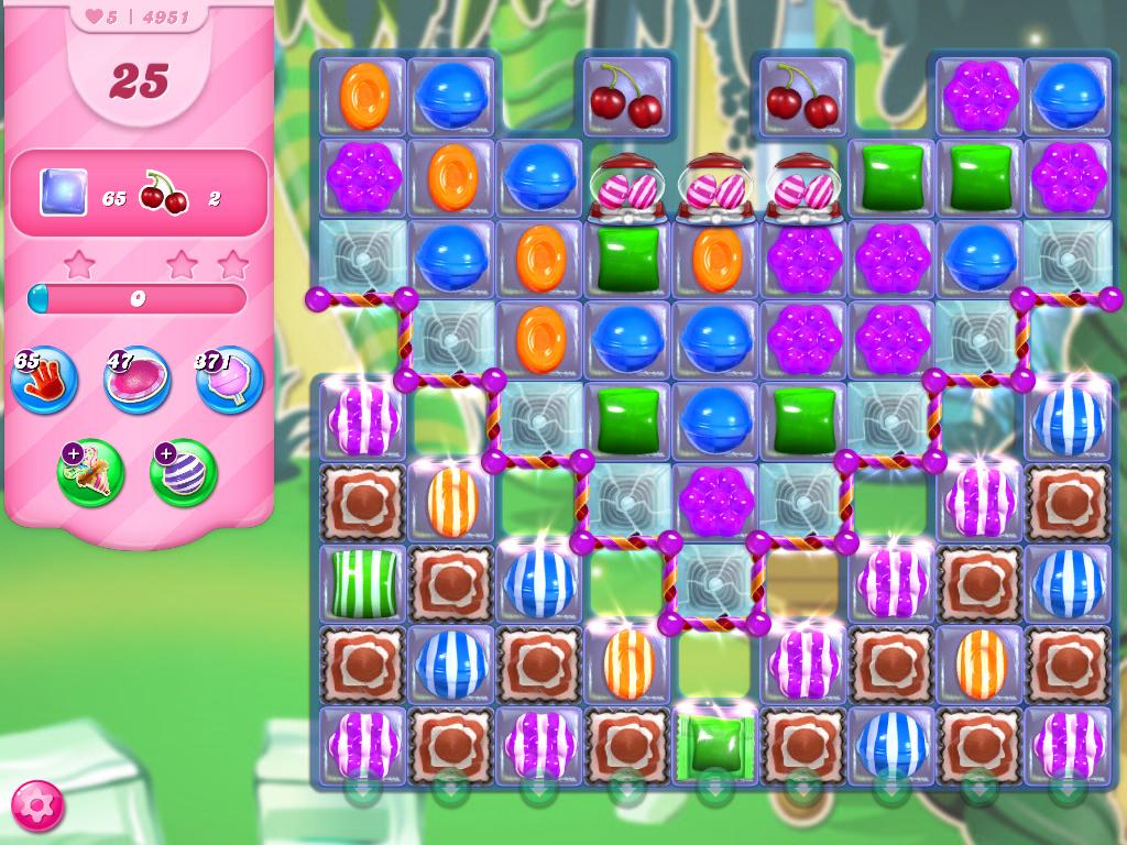 Candy Crush Saga level 4951