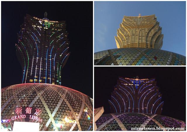 Макао - отель-казино Гранд Лисбоа