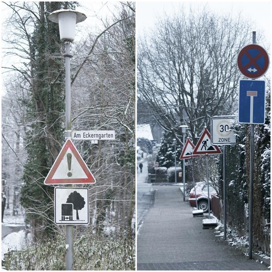 Blog + Fotografie by it's me! - Draussen - Magische Mottos im Januar, Schilderwald