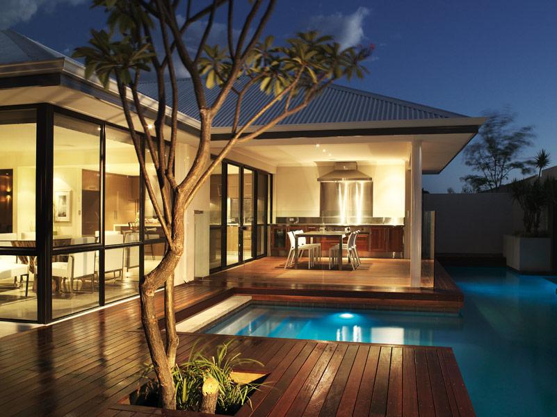 Casas minimalistas y modernas quinchos modernos y for Casa minimalistas