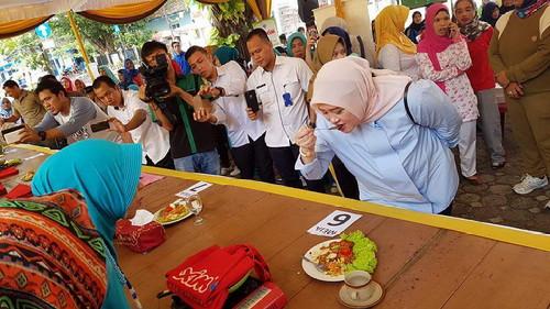 Hj Lindasari Dukung Terbentuknya Wisata Kuliner di Kayuagung