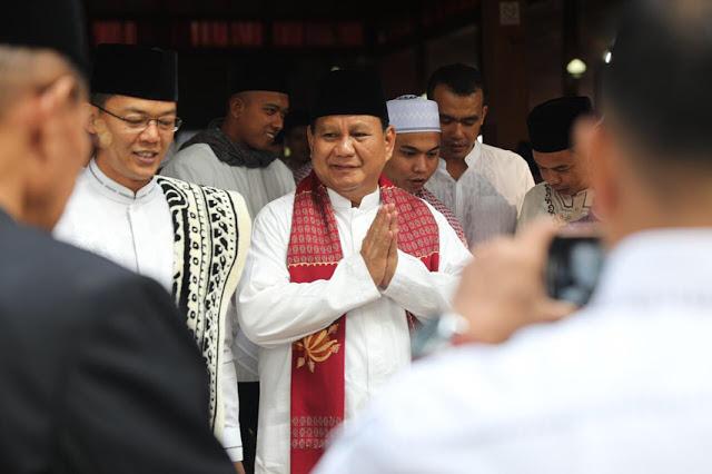 Prabowo: Selamat Menunaikan Ibadah Puasa