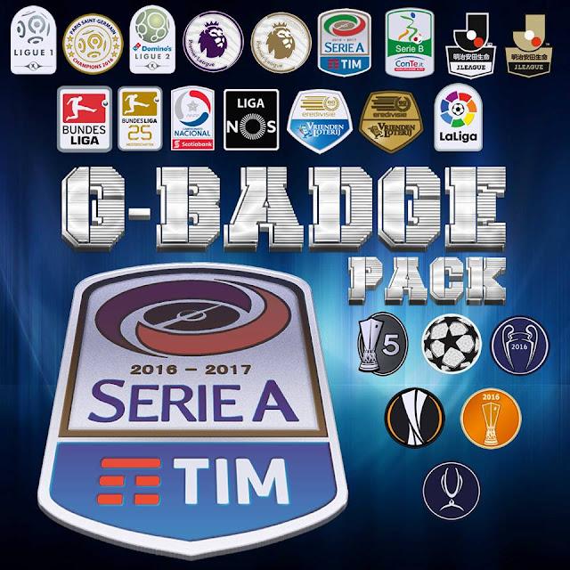 PES 2017 Badge Pack dari G-Style