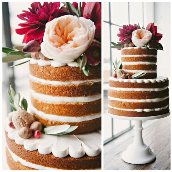 Tortas Para Matrimonio Rustico : Fiestas elige tu torta naked cake o sin cobertura